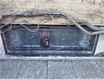 Kellerfensterschutz